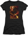 The Hobbit juniors t-shirt Smolder black