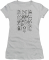 The Hobbit juniors t-shirt The Company silver