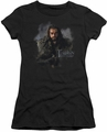 The Hobbit juniors t-shirt Thorin Oakenshield black