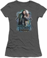 The Hobbit juniors t-shirt Thorin Oakenshield charcoal