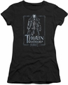 The Hobbit juniors t-shirt Thorin Stare black