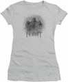 The Hobbit juniors t-shirt Three Trolls silver