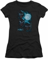 The Hobbit juniors t-shirt Three Warg Moon black