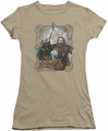 The Hobbit juniors t-shirt Wrongs Avenged charcoal