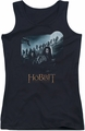 The Hobbit juniors tank top A Journey black