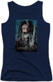 The Hobbit juniors tank top Bifur navy