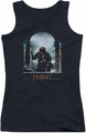 The Hobbit juniors tank top Bilbo Poster black