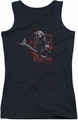 The Hobbit juniors tank top Bolg black