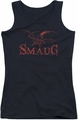 The Hobbit juniors tank top Dragon black