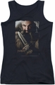 The Hobbit juniors tank top Dwalin black