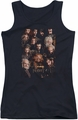 The Hobbit juniors tank top Dwarves Poster black