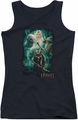 The Hobbit juniors tank top Elrond's Crew black