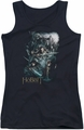 The Hobbit juniors tank top Epic Adventure black