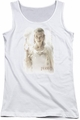 The Hobbit juniors tank top Galadriel white