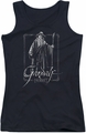 The Hobbit juniors tank top Gandalf Stare black