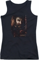 The Hobbit juniors tank top Gloin Poster black