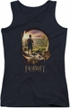 The Hobbit juniors tank top Hobbit In Door black
