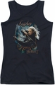 The Hobbit juniors tank top Knives black