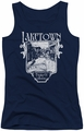 The Hobbit juniors tank top Laketown Simple navy