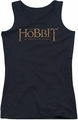 The Hobbit juniors tank top Logo black