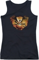 The Hobbit juniors tank top Reign In Flame black