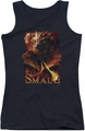 The Hobbit juniors tank top Smolder black