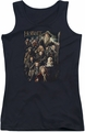The Hobbit juniors tank top Somber Company black