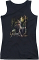 The Hobbit juniors tank top Sword And Staff black