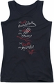 The Hobbit juniors tank top Tail Claws Teeth black
