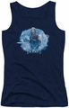 The Hobbit juniors tank top Tangled Web navy