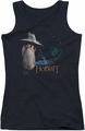 The Hobbit juniors tank top The Door black