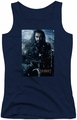 The Hobbit juniors tank top Thorin Poster navy