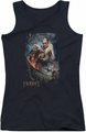 The Hobbit juniors tank top Thranduil's Realm black