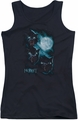 The Hobbit juniors tank top Three Warg Moon black