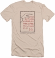 The Hobbit slim-fit t-shirt Back Door mens cream