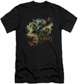 The Hobbit slim-fit t-shirt Baddies mens black
