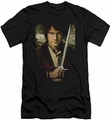 The Hobbit slim-fit t-shirt Baggins Poster mens black