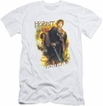 The Hobbit slim-fit t-shirt Bilbo mens white