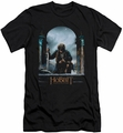 The Hobbit slim-fit t-shirt Bilbo Poster mens black