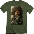 The Hobbit slim-fit t-shirt Bofur mens military green