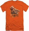 The Hobbit slim-fit t-shirt Bombur mens orange