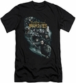 The Hobbit slim-fit t-shirt Company Of Dwarves mens black