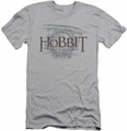 The Hobbit slim-fit t-shirt Door Logo mens silver