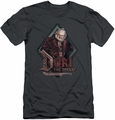 The Hobbit slim-fit t-shirt Dori mens charcoal