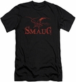 The Hobbit slim-fit t-shirt Dragon mens black