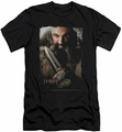 The Hobbit slim-fit t-shirt Dwalin mens black