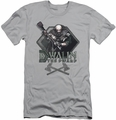 The Hobbit slim-fit t-shirt Dwalin mens silver