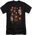 The Hobbit slim-fit t-shirt Dwarves Poster mens black