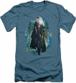 The Hobbit slim-fit t-shirt Elrond mens slate