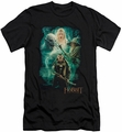 The Hobbit slim-fit t-shirt Elronds Crew mens black
